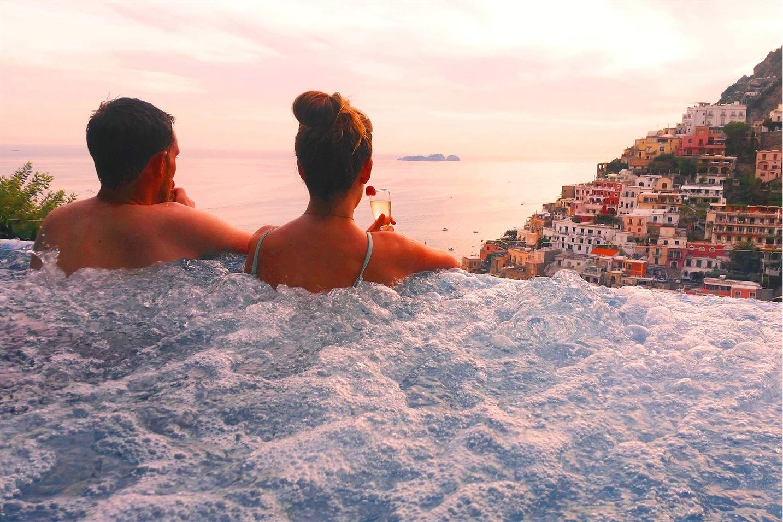 honeymoon in positano amalfi coast