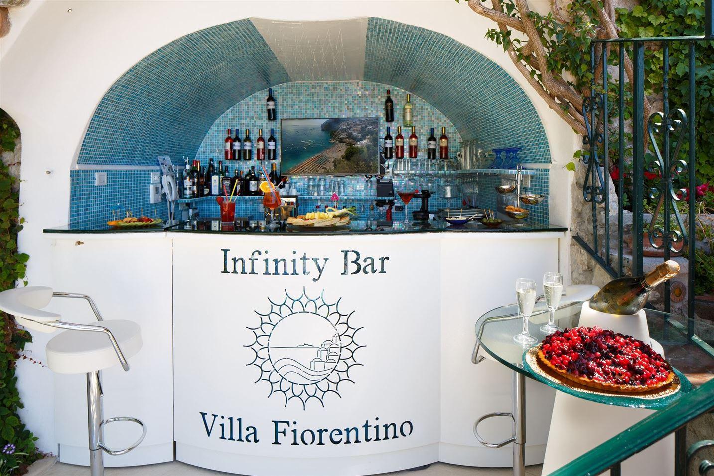 Infinity bar Villa Fiorentino Positano Amalfi Coast