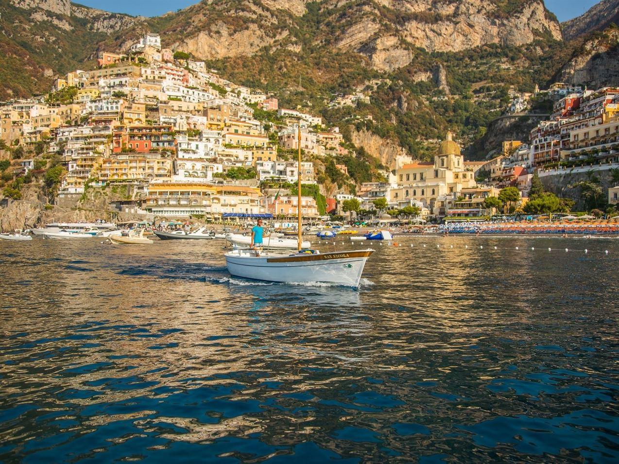 boat tour amalfi coast